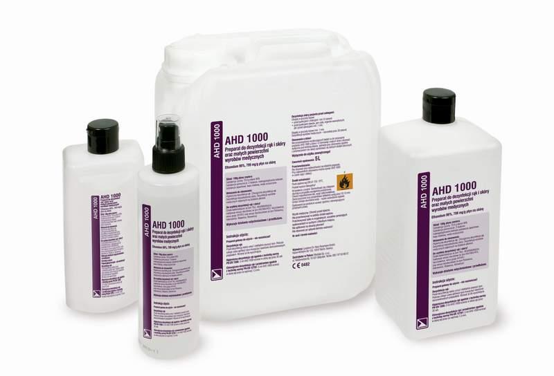 AHD 1000 - alkoholowy plyn do dezynfekcji rak i_skory