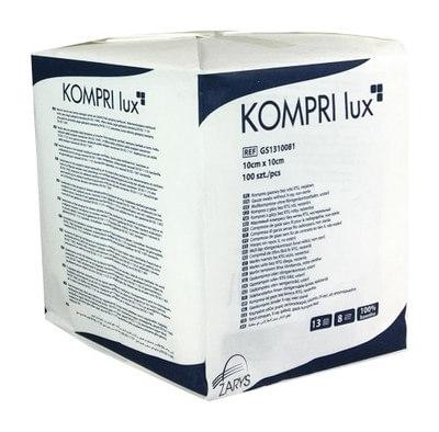 Kompresy gazowe niejalowe KOMPRI lux