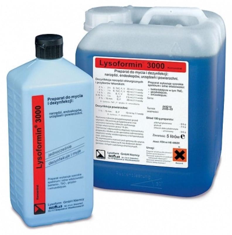 Lysoformin 3000 - manualna dezynfekcja i mycie_narzedzi oraz endoskopow