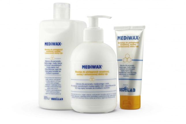 Mediwax - emulsja do pielegnacji skory rak