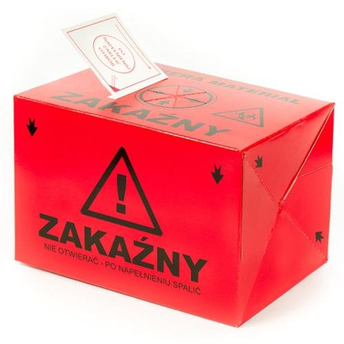 Pojemnik na odpady medyczne 4l - karton