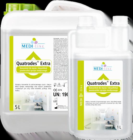 Quatrodes Extra - dezynfekcja i mycie nieinwazyjnego_sprzetu medycznego