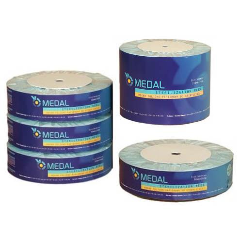 Rekawy papierowo-foliowe do sterylizacji MEDAL