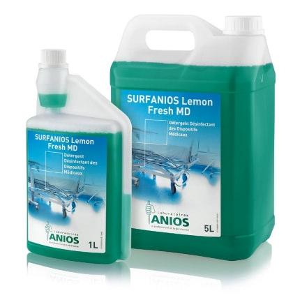 SURFANIOS Lemon Fresh - dezynfekcja i mycie powierzchni oraz_narzedzi
