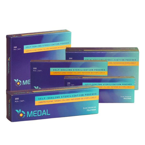 Torebki foliowo-papierowe do sterylizacji MEDAL
