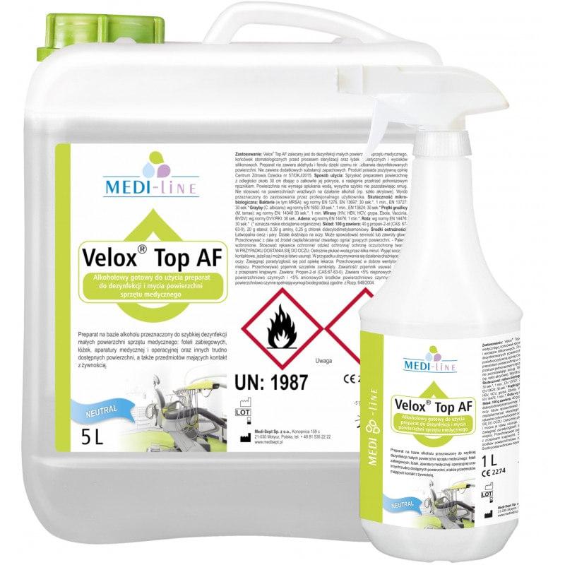Velox Top AF - szybka dezynfekcja powierzchni plaskich